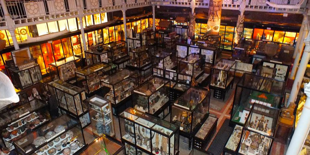 Pitt Rivers Museum from above